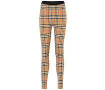 Karierte Leggings Vintage Check