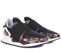 Sneakers Elastic Runner aus Leder