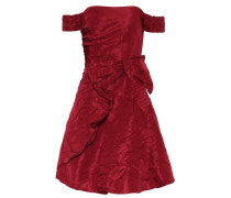 Off-Shoulder-Kleid aus Satin
