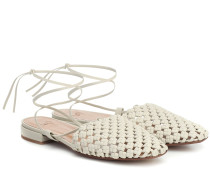 Slippers Costa aus Leder