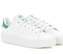 Sneakers Stan Smith Bold aus Leder