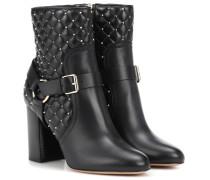 Garavani Ankle Boots Rockstud Spike aus Leder