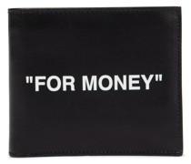 Portemonnaie Quote aus Leder