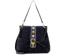 Tasche Lexa aus Veloursleder