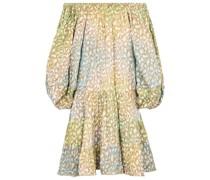 Off-Shoulder-Minikleid aus Baumwolle