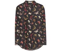Bluse Essential aus einem Baumwoll-Seidengemisch