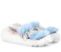 Slippers aus Shearling