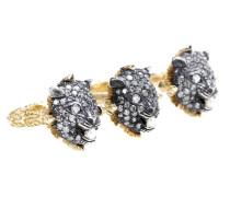 Exklusiv bei mytheresa.com – Ring Garden aus 18kt Gold mit Diamanten und Perlen