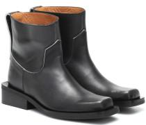 Ankle Boots Low MC aus Leder