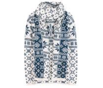 Cashmere-Pullover Finland mit Schal