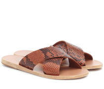 Sandalen Thais aus Leder
