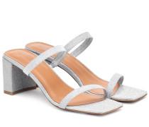 Sandalen Tanya mit Glitter