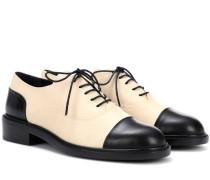 Derby Schuhe aus Leder