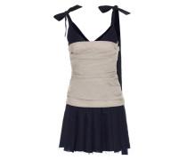 Trägerkleid aus Wolle, Schurwolle und Baumwolle