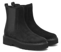 Chelsea Boots aus Velousleder