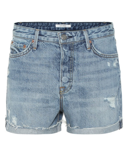 High-Rise Jeansshorts Kerry