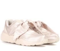 Sneakers aus Satin