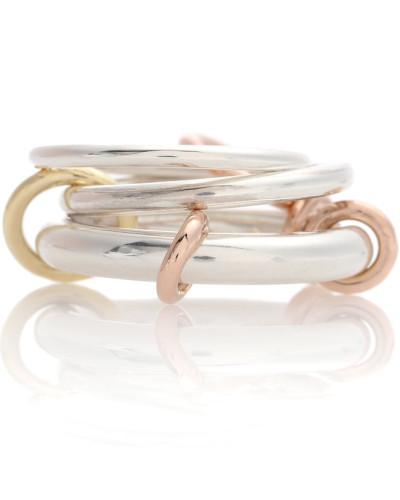 Ring Orion aus 18kt Gold und 925er Sterlingsilber