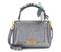 Tasche Bathurst Mini aus Metallic-Leder