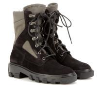 Exklusiv bei mytheresa.com – Boots mit Veloursleder