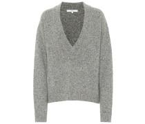 Pullover Tweedy mit Wollanteil