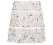 Volantrock aus Baumwolle und Seide