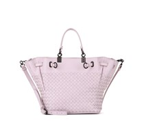 Shopper Small Bucket aus Intrecciato-Leder