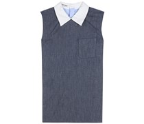 Bluse aus Baumwolle und Denim