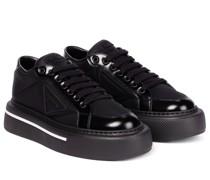 Sneakers Macro aus Re-Nylon und Leder