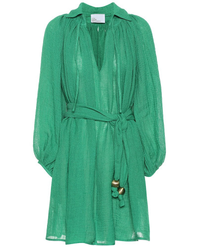 Kleid Poet aus einem Leinengemisch