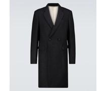 Zweireihiger Slim-Fit-Mantel
