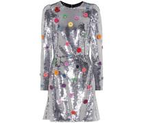 Verziertes Kleid mit Pailletten