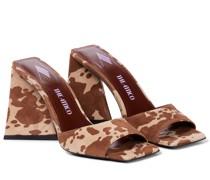 Sandalen Devon aus Veloursleder