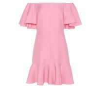 Kleid aus Schurwolle und Seide