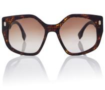 Bedruckte Brille FF aus Acetat