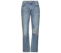 High-Rise Straight Jeans 70s