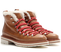 Schnür-Boots Compass aus Leder