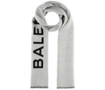 Schal aus Cashmere mit Logo