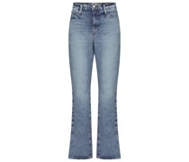 High-Rise Straight Jeans Le Drew