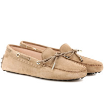 Loafers Heaven aus Veloursleder