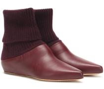 Ankle Boots Rocia aus Leder
