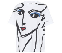 T-Shirt Beauty Face aus Baumwolle