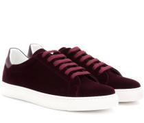 Sneakers Wink aus Samt