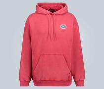 Pullover mit Logo und Kapuze