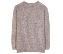 Oversize-Pullover aus einem Mohair-Wollgemisch