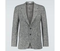 Einreihiger Blazer aus Tweed