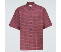 Kariertes Poloshirt aus Baumwolle