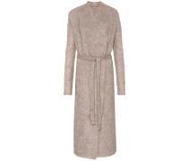 Mantel mit Mohair und Wolle