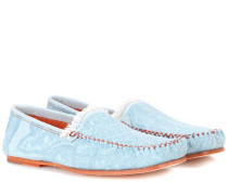 Loafers Jackson aus Denim