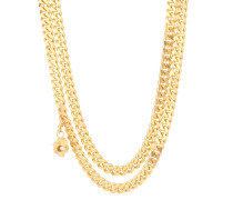 Vergoldete Halskette Jessie